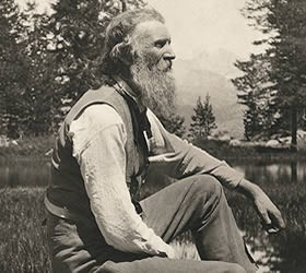 John Muir, from the Library of Congress collection