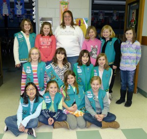 Mary teaches writing for a Girl Scout badge