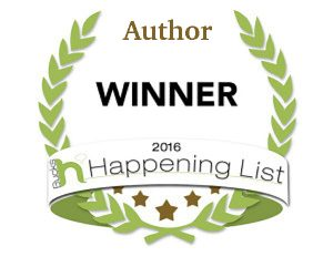 Winner - 2016 Most Happening Author in Bucks County