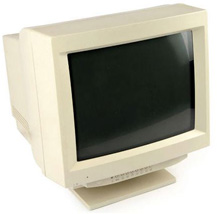 Old CRT Monitor