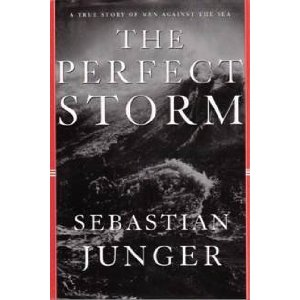 Book cover, The Perfect Storm