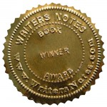 Writers Notes Magazine Best Book Award