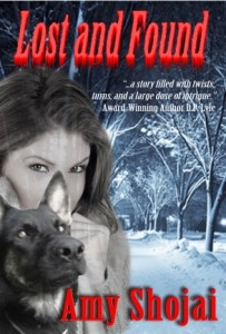 """Amy Shojai's new book, """"Lost and Found"""""""
