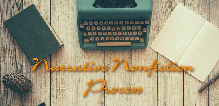 Narrative Nonfiction Process graphic
